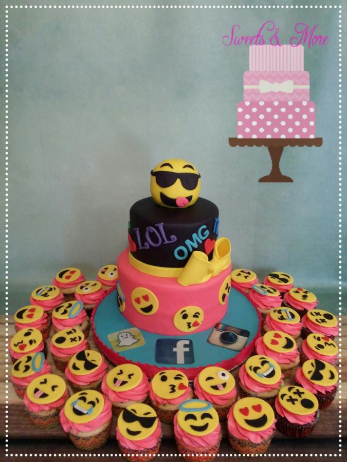 Best ideas about Emoji Birthday Cake . Save or Pin emoji cake cake by sweetsnmore CakesDecor Now.