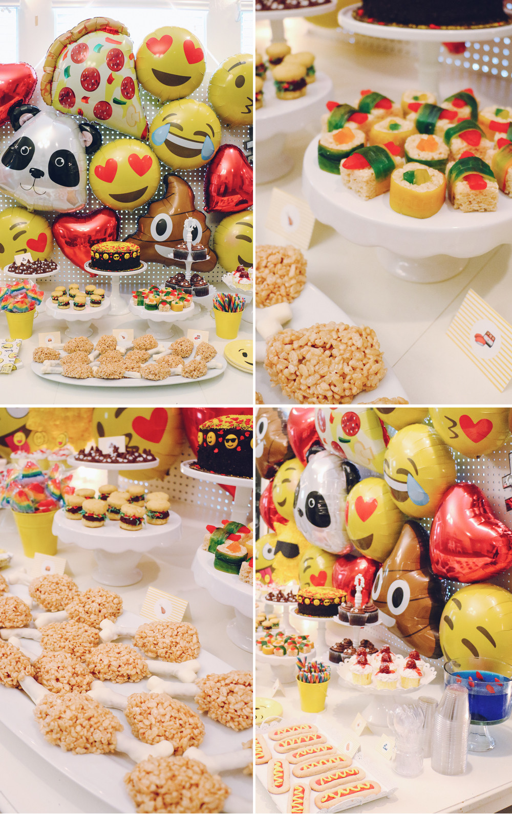 Best ideas about Emoji Birthday Party . Save or Pin Sophia's Emoji Birthday Party – At Home With Natalie Now.