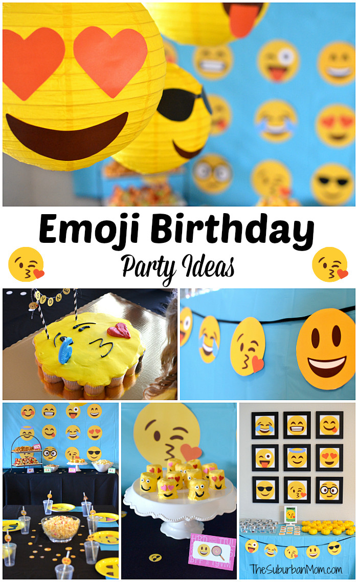 Best ideas about Emoji Birthday Party Decorations . Save or Pin Emoji Birthday Party Ideas Free Printables Decorations Now.