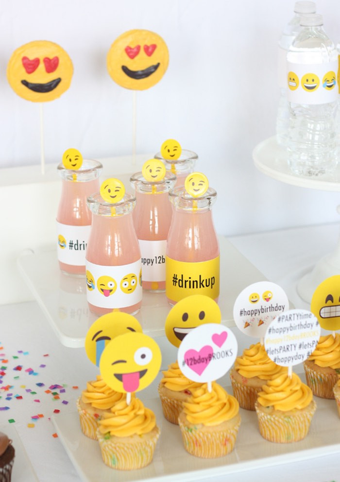 Best ideas about Emoji Birthday Party Decorations . Save or Pin Kara s Party Ideas Instagram Emoji Themed Teen Birthday Now.