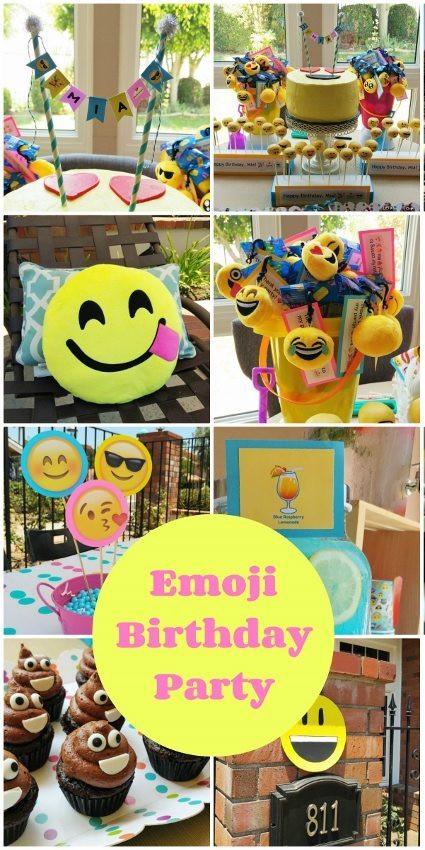Best ideas about Emoji Birthday Party Decorations . Save or Pin Emoji Birthday Party Ideas DIY Inspired Now.