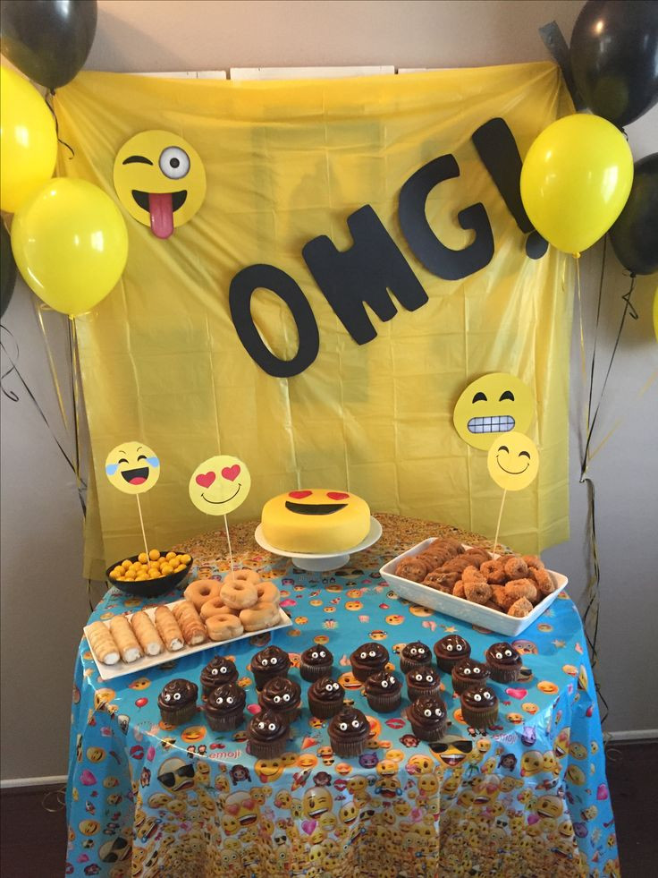 Best ideas about Emoji Birthday Party . Save or Pin Best 25 Birthday emoji ideas on Pinterest Now.