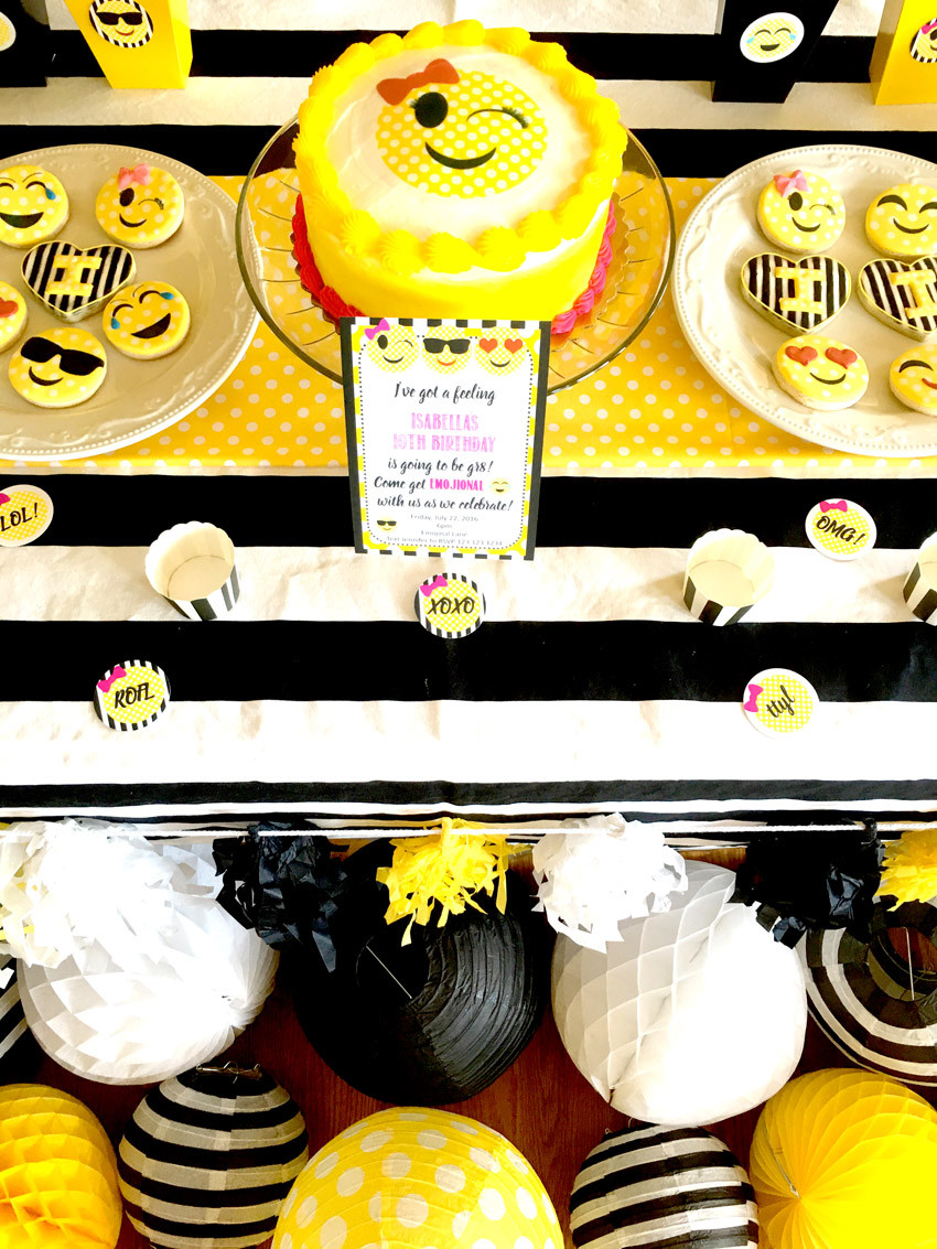 Best ideas about Emoji Birthday Party . Save or Pin Emoji Themed Birthday Party Pretty My Party Party Ideas Now.