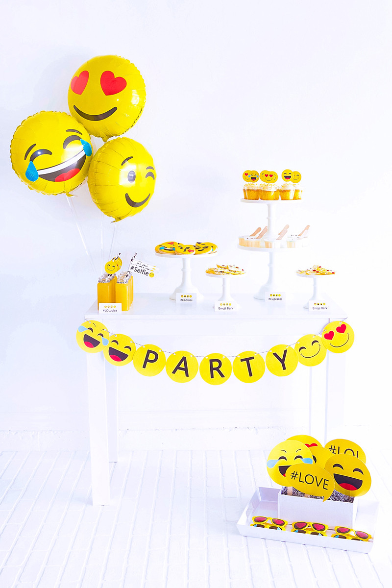 Best ideas about Emoji Birthday Party . Save or Pin Emoji Party Emoji Birthday Party Emoji FREE Printables Now.