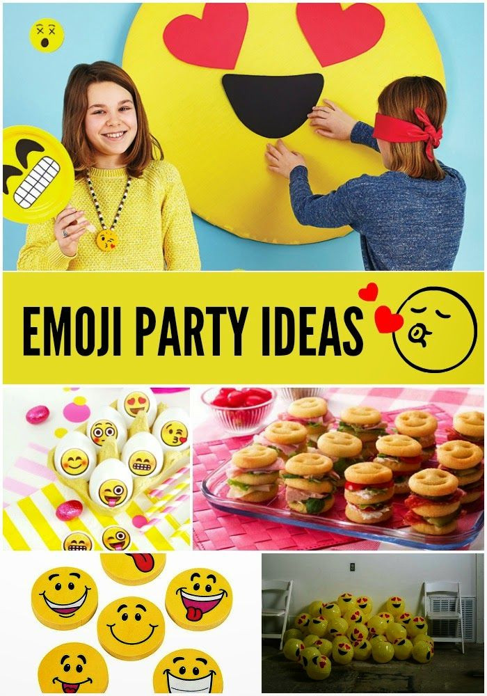 Best ideas about Emoji Birthday Party . Save or Pin Tuesday Trend Emoji Party Ideas Now.