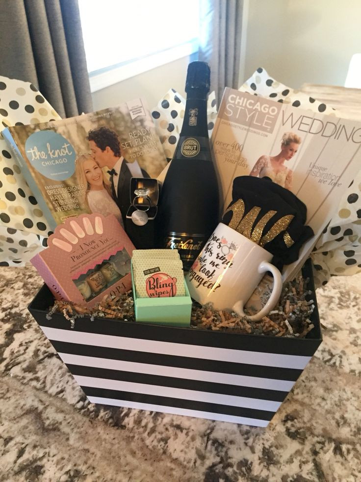 Best ideas about Engagement Gift Basket Ideas . Save or Pin 1000 ideas about Engagement Gifts on Pinterest Now.