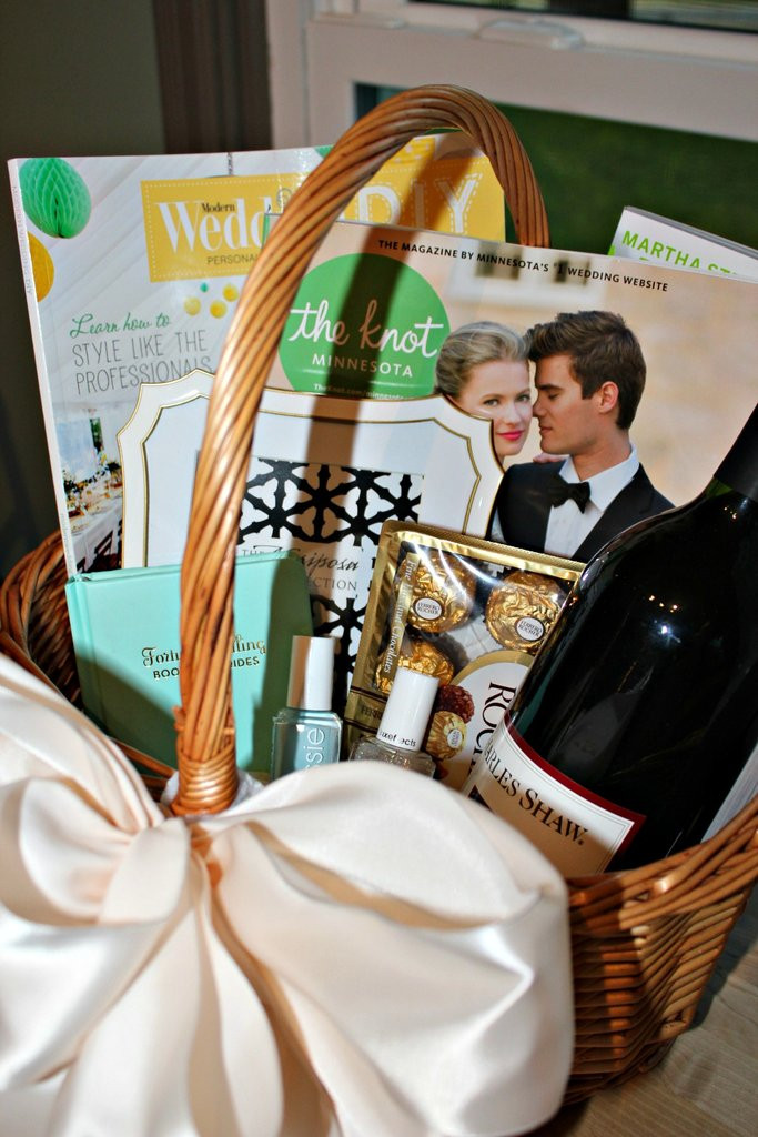 Best ideas about Engagement Gift Basket Ideas . Save or Pin Engagement Gift Ideas Gift Baskets for the Bride to Be Now.