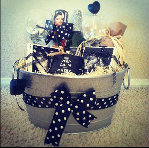 Best ideas about Engagement Gift Basket Ideas . Save or Pin Etsy Your place to and sell all things handmade Now.
