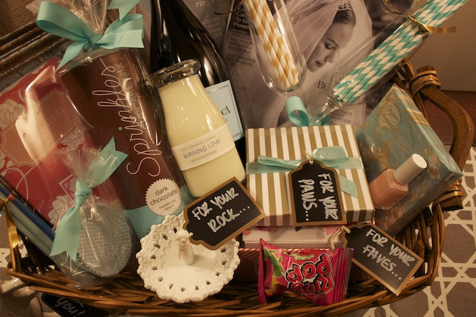 Best ideas about Engagement Gift Basket Ideas . Save or Pin How To Engagement Gift Basket Hosting & ToastingHosting Now.