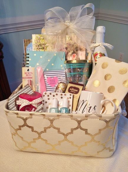 Best ideas about Engagement Gift Basket Ideas . Save or Pin 25 unique Wedding t baskets ideas on Pinterest Now.