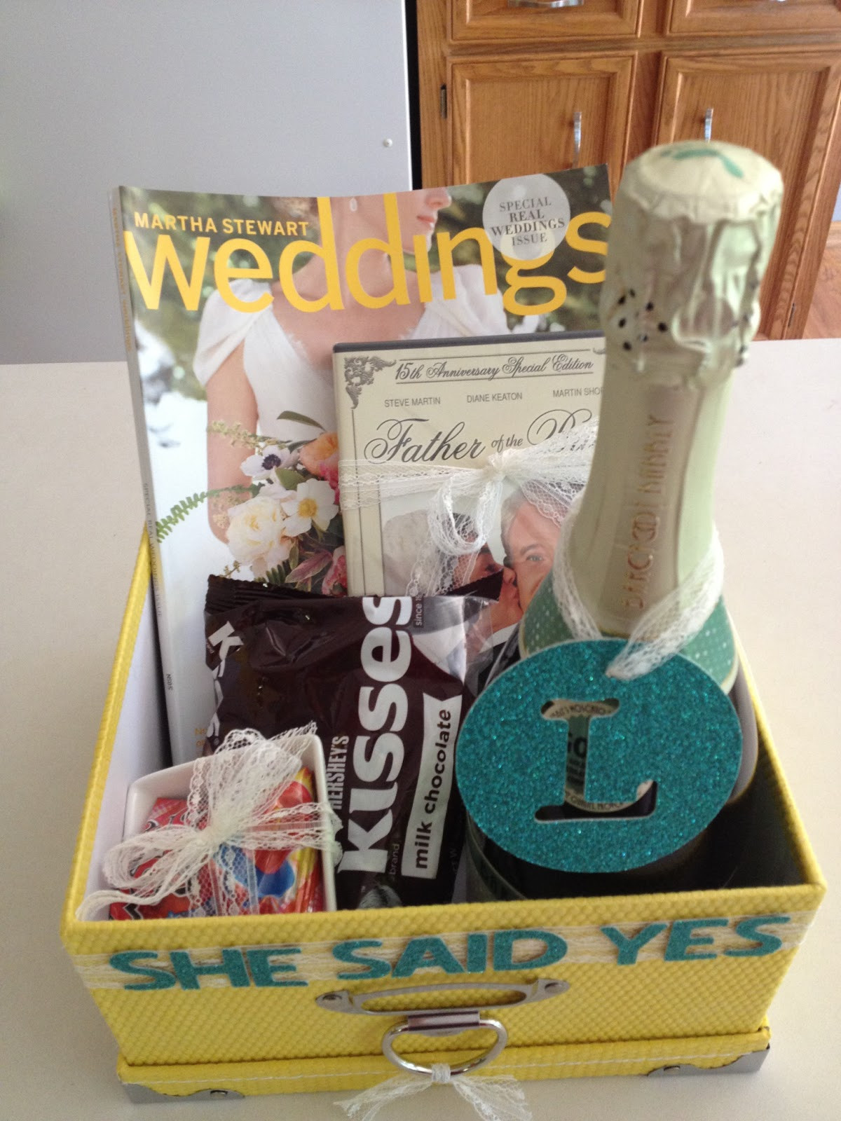 Best ideas about Engagement Gift Basket Ideas . Save or Pin first es love Engagement Wishes Now.