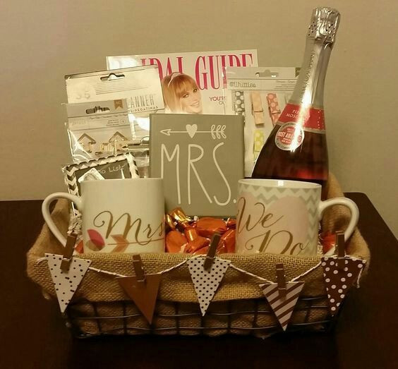 Best ideas about Engagement Gift Basket Ideas . Save or Pin Best 25 Engagement t baskets ideas on Pinterest Now.