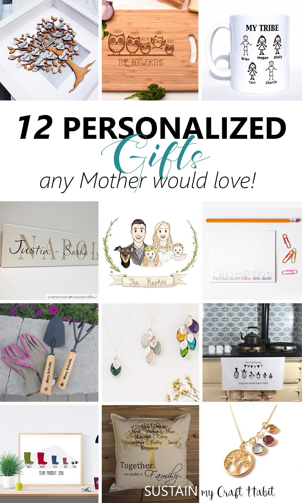 Best ideas about Engraved Gift Ideas . Save or Pin 12 Thoughtful Personalized Gifts any Mother Would Love Now.