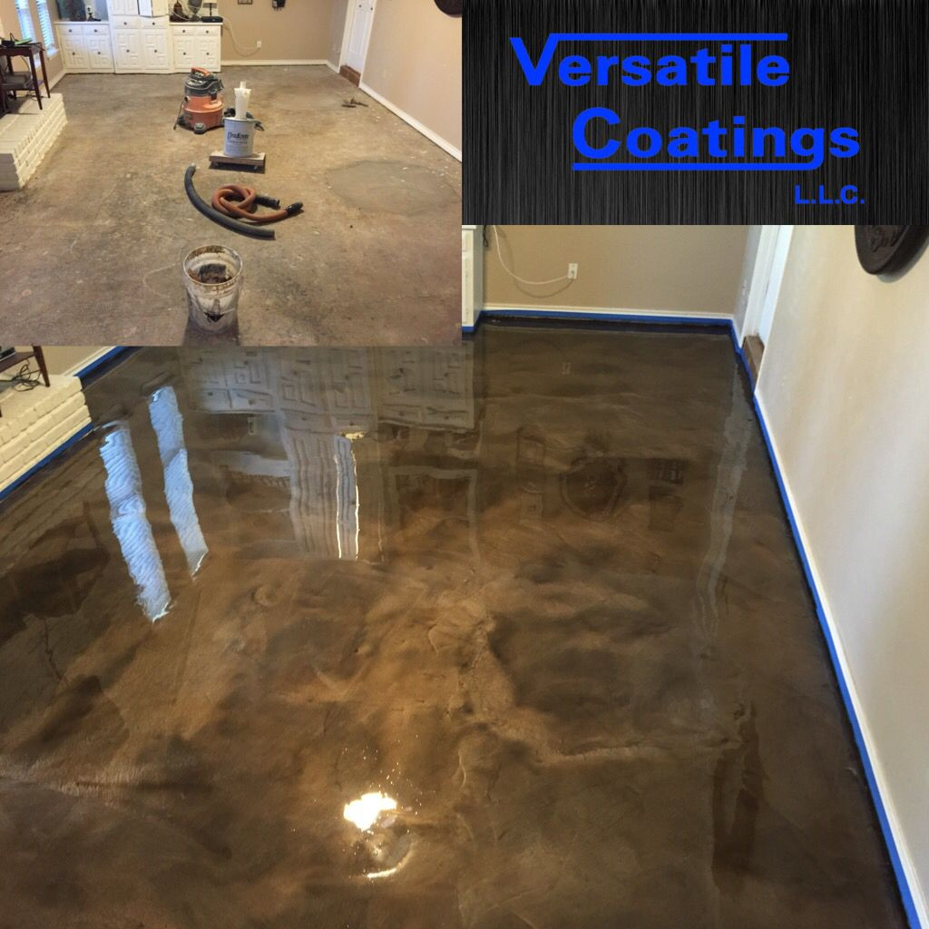 Best ideas about Epoxy Basement Floor DIY . Save or Pin Metallic epoxy floor coating for a truly one of a kind Now.