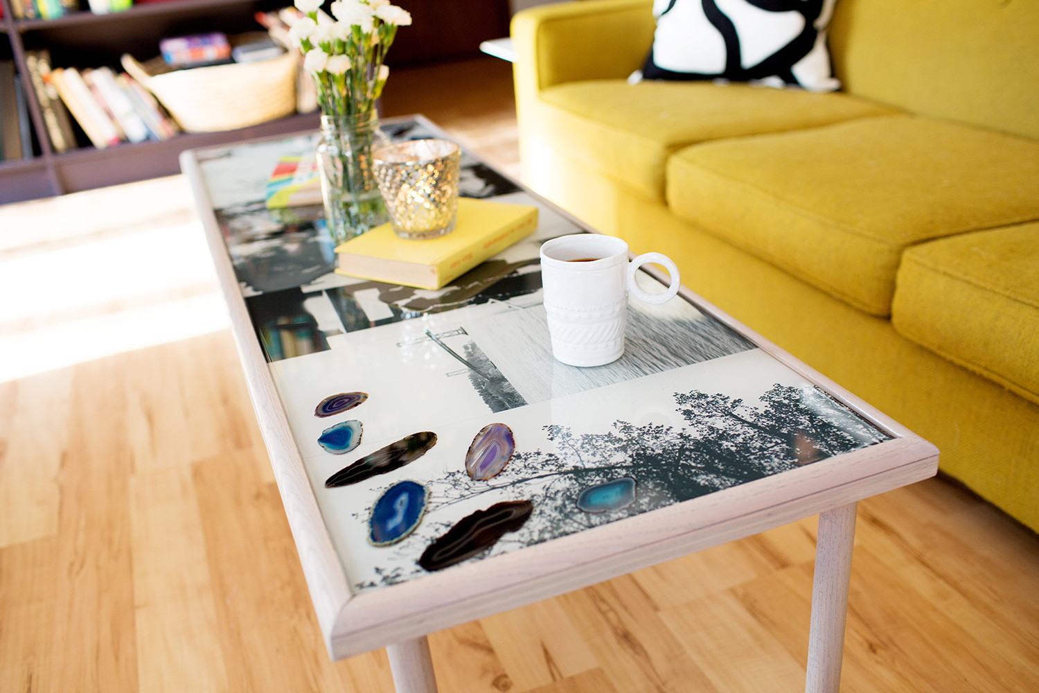Best ideas about Epoxy Resin Table Top DIY . Save or Pin DIY Epoxy Resin Coffee Table A Beautiful Mess Now.