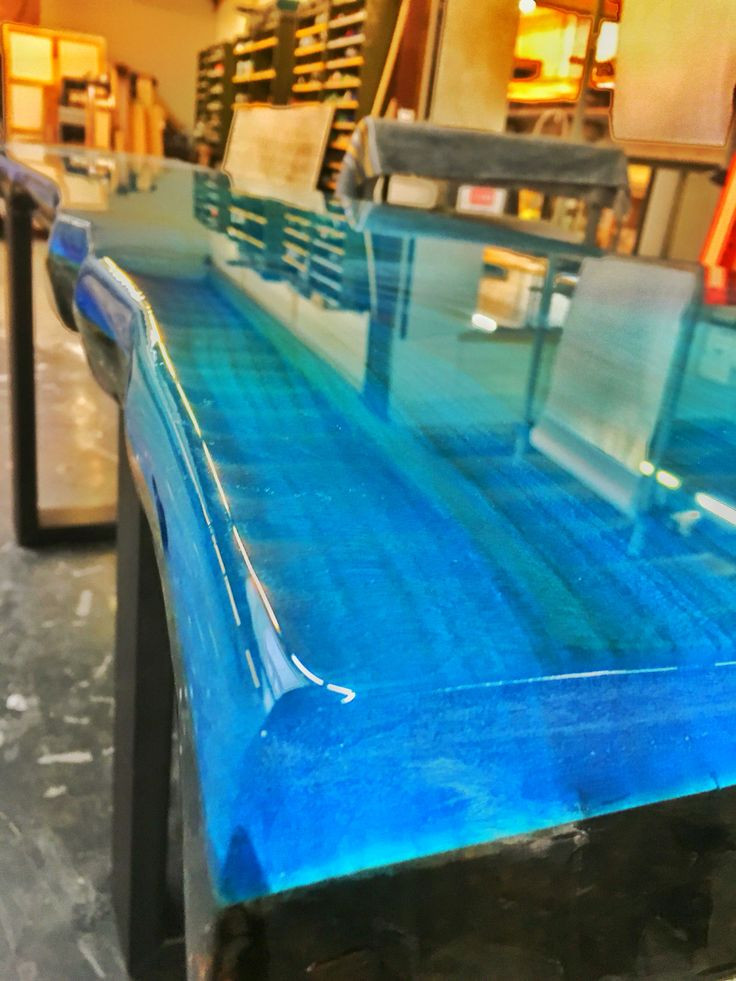 Best ideas about Epoxy Resin Table Top DIY . Save or Pin Epoxy resin ocean blue Now.
