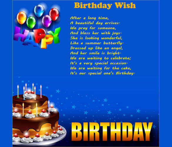 Best ideas about Examples Of Birthday Wishes . Save or Pin 11 Birthday Email Templates Free Sample Example Now.