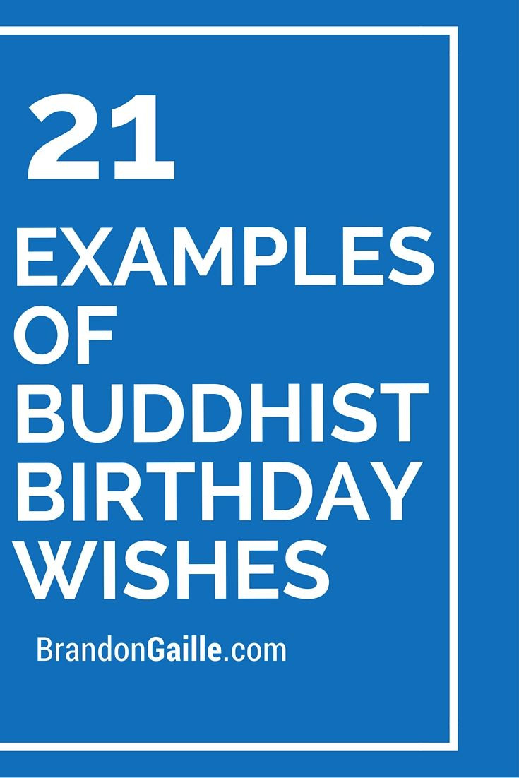 Best ideas about Examples Of Birthday Wishes . Save or Pin 21 Examples of Buddhist Birthday Wishes Now.