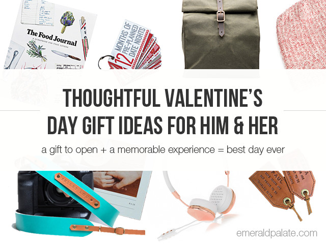 Best ideas about Experience Gift Ideas For Him . Save or Pin Thoughtful Valentine s Day Gift Ideas For Him & Her The Now.