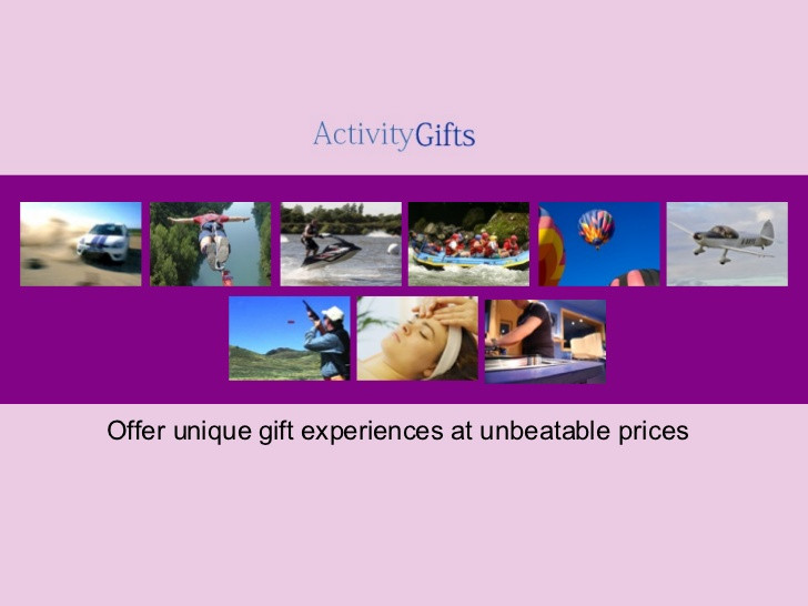 Best ideas about Experience Gift Ideas For Him . Save or Pin Activity Gifts Rally Driving Unique Holiday Gift Now.