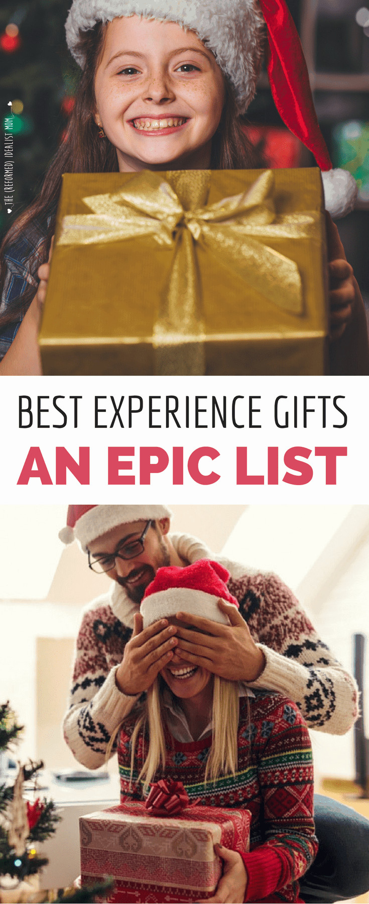Best ideas about Experience Gift Ideas For Him . Save or Pin The Ultimate Most Epic List of the Best Experience Gift Now.