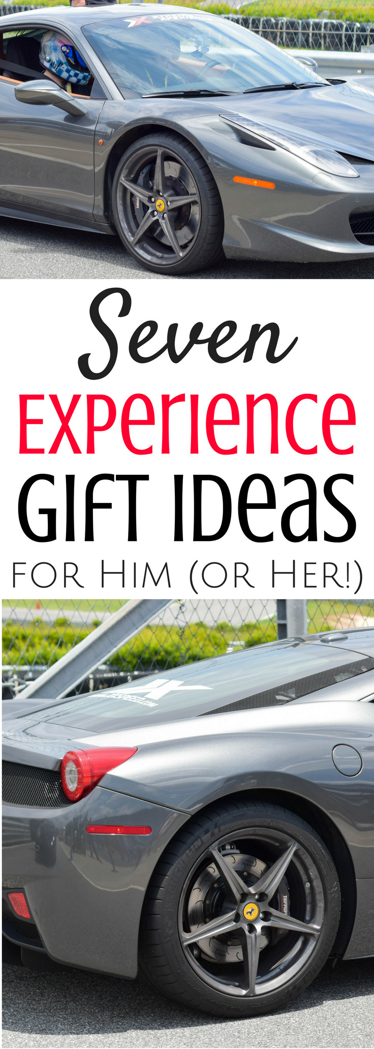 Best ideas about Experience Gift Ideas For Him . Save or Pin Seven Experience Gift Ideas for Him or Her Now.