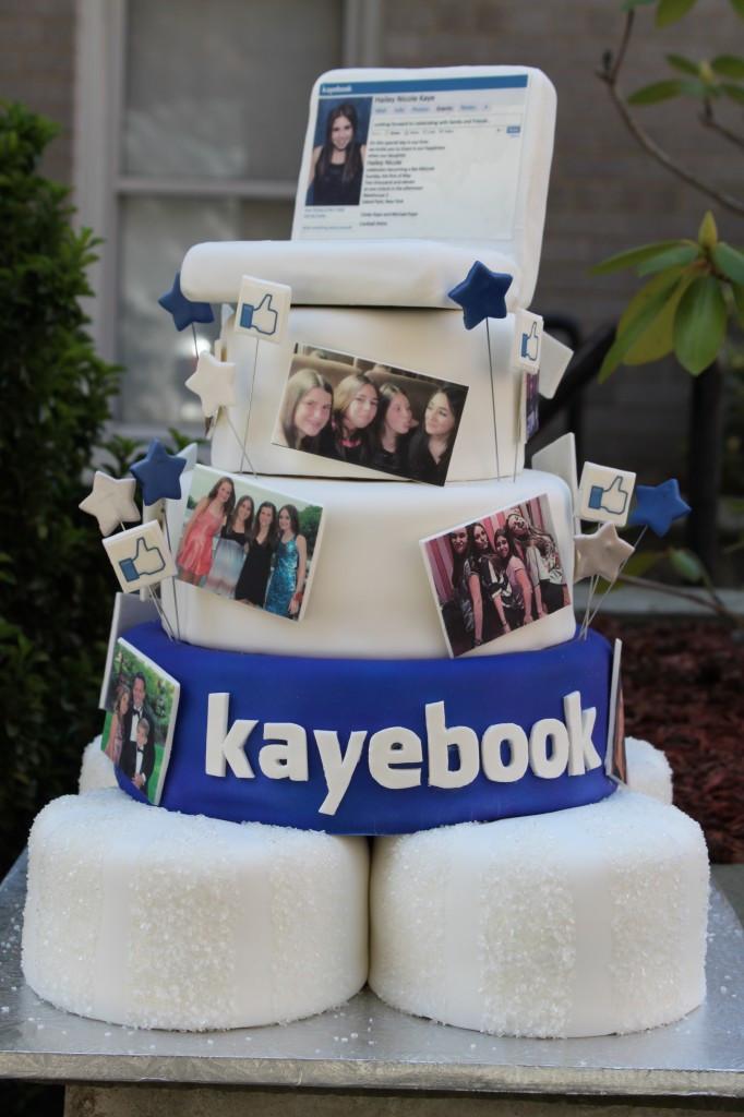 Best ideas about Facebook Birthday Cake . Save or Pin Themed Cakes Birthday Cakes Wedding Cakes Now.