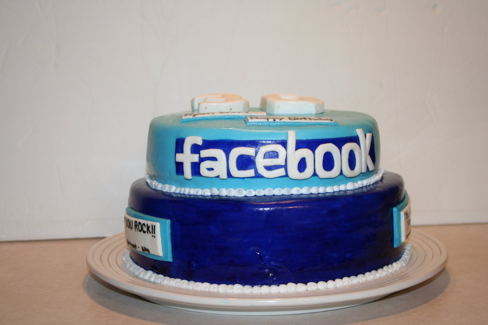 Best ideas about Facebook Birthday Cake . Save or Pin Kakie s Cakes Cake Now.