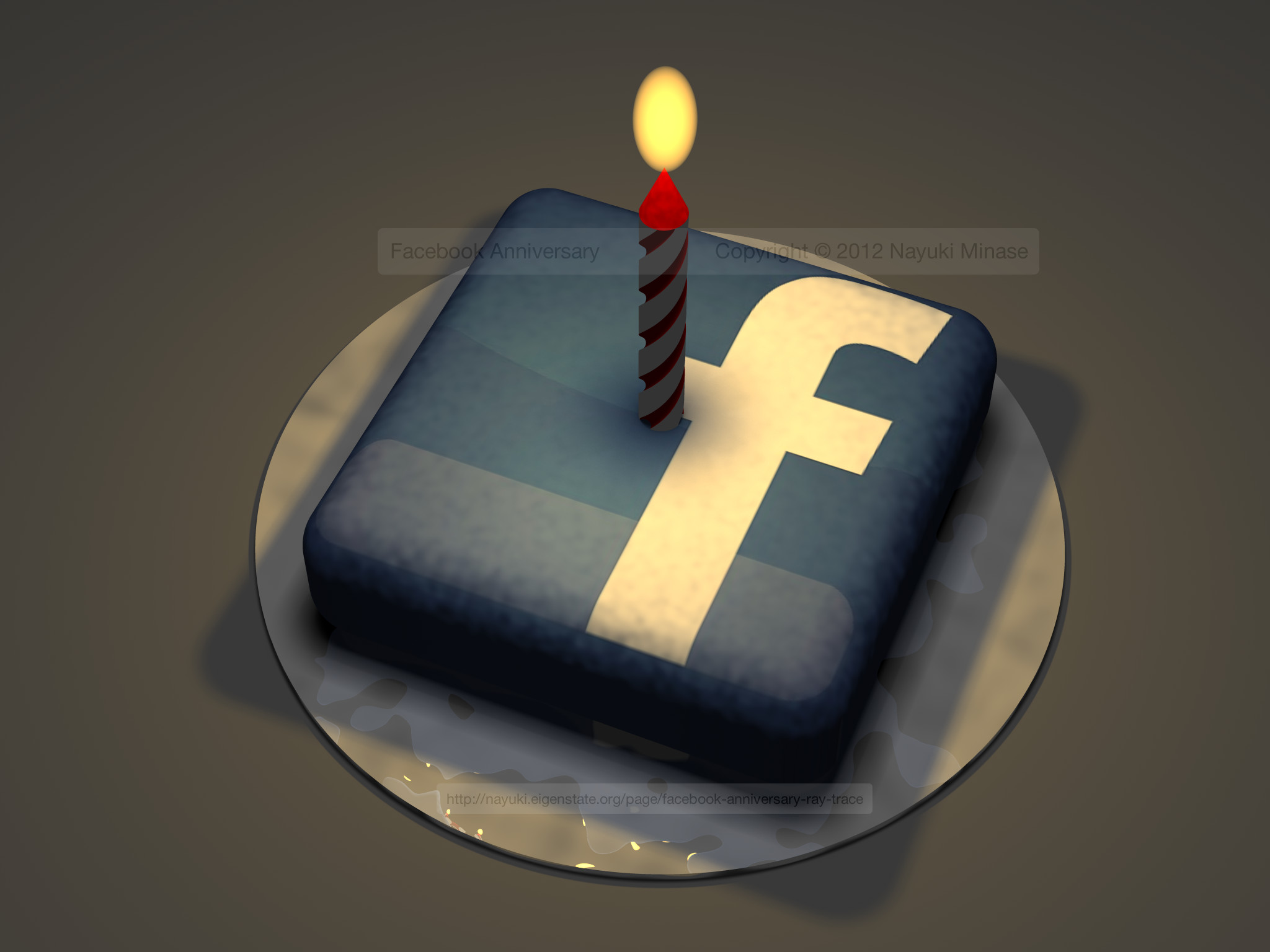 Best ideas about Facebook Birthday Cake . Save or Pin anniversary ray trace Now.