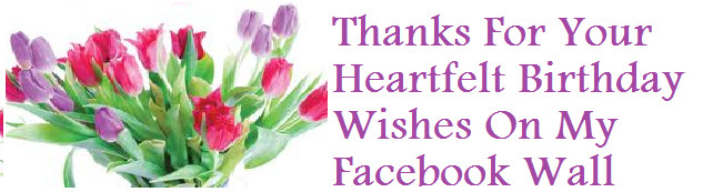 Best ideas about Facebook Thank You For Birthday Wishes . Save or Pin Thank You Messages Sample Thank You Messages For Now.