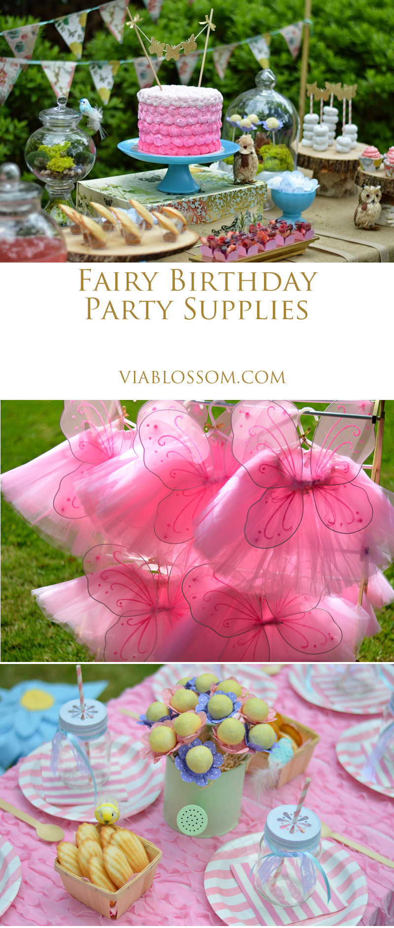 Best ideas about Fairy Birthday Party . Save or Pin Enchanted Fairy Party Now.