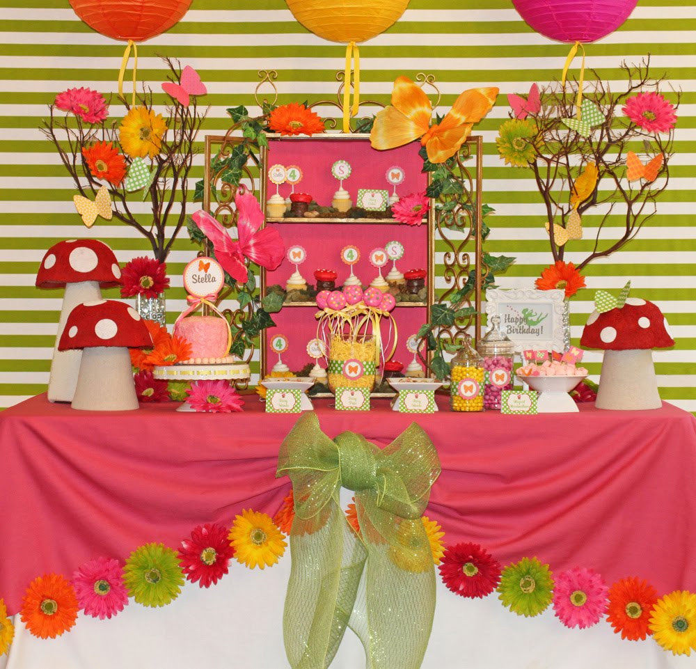 Best ideas about Fairy Birthday Party . Save or Pin Amanda s Parties To Go Fairy Party Collection Now.
