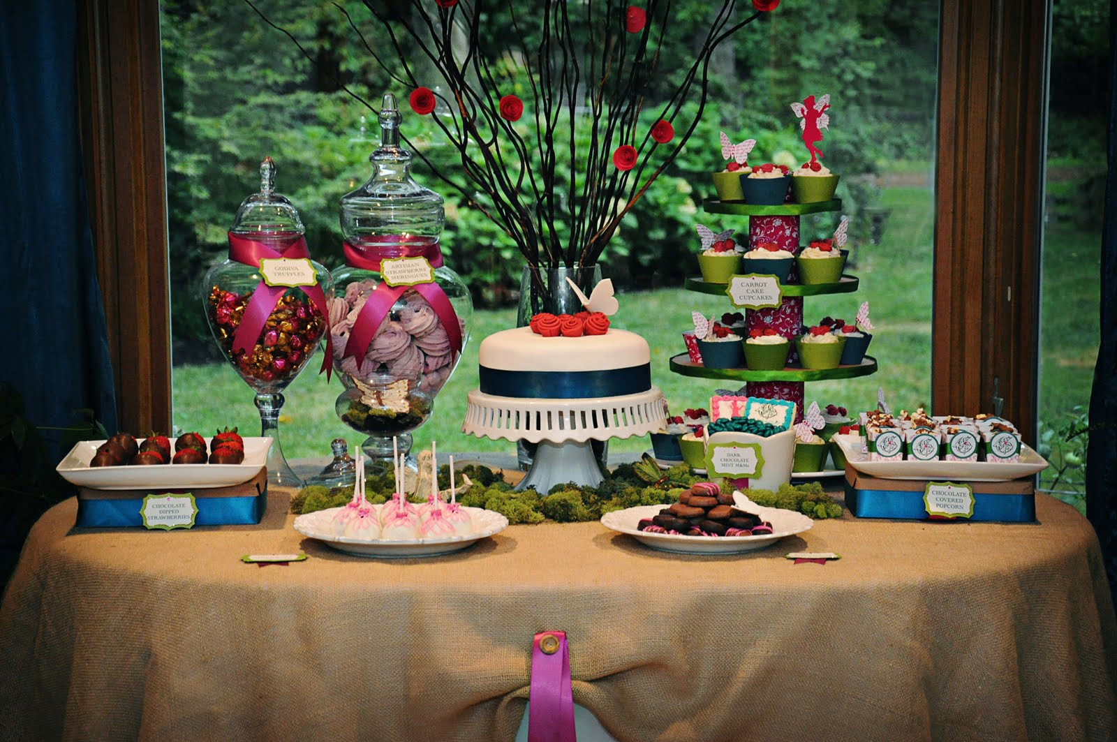 Best ideas about Fairy Birthday Party . Save or Pin An Adult Garden Fairy Birthday Celebrations at Home Now.