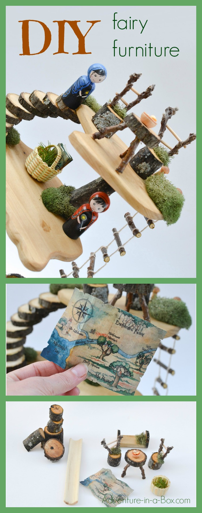 Best ideas about Fairy Furniture DIY . Save or Pin DIY Project How to Make Fairy Furniture Now.