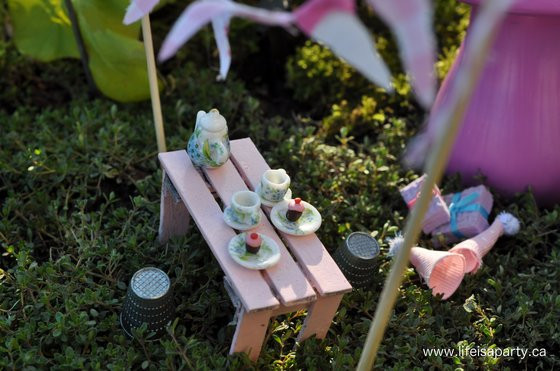 Best ideas about Fairy Furniture DIY . Save or Pin A Fairy Garden Birthday Party Life is a Party Now.