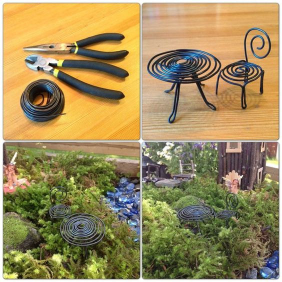 Best ideas about Fairy Furniture DIY . Save or Pin DIY Fairy Garden Furniture Now.
