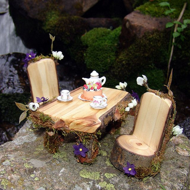 Best ideas about Fairy Furniture DIY . Save or Pin 25 best ideas about Fairy Furniture on Pinterest Now.