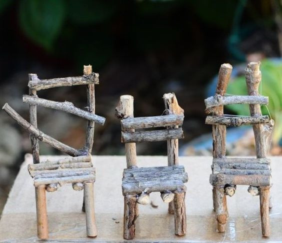 Best ideas about Fairy Furniture DIY . Save or Pin 613 best images about Miniature fairy garden ideas on Now.