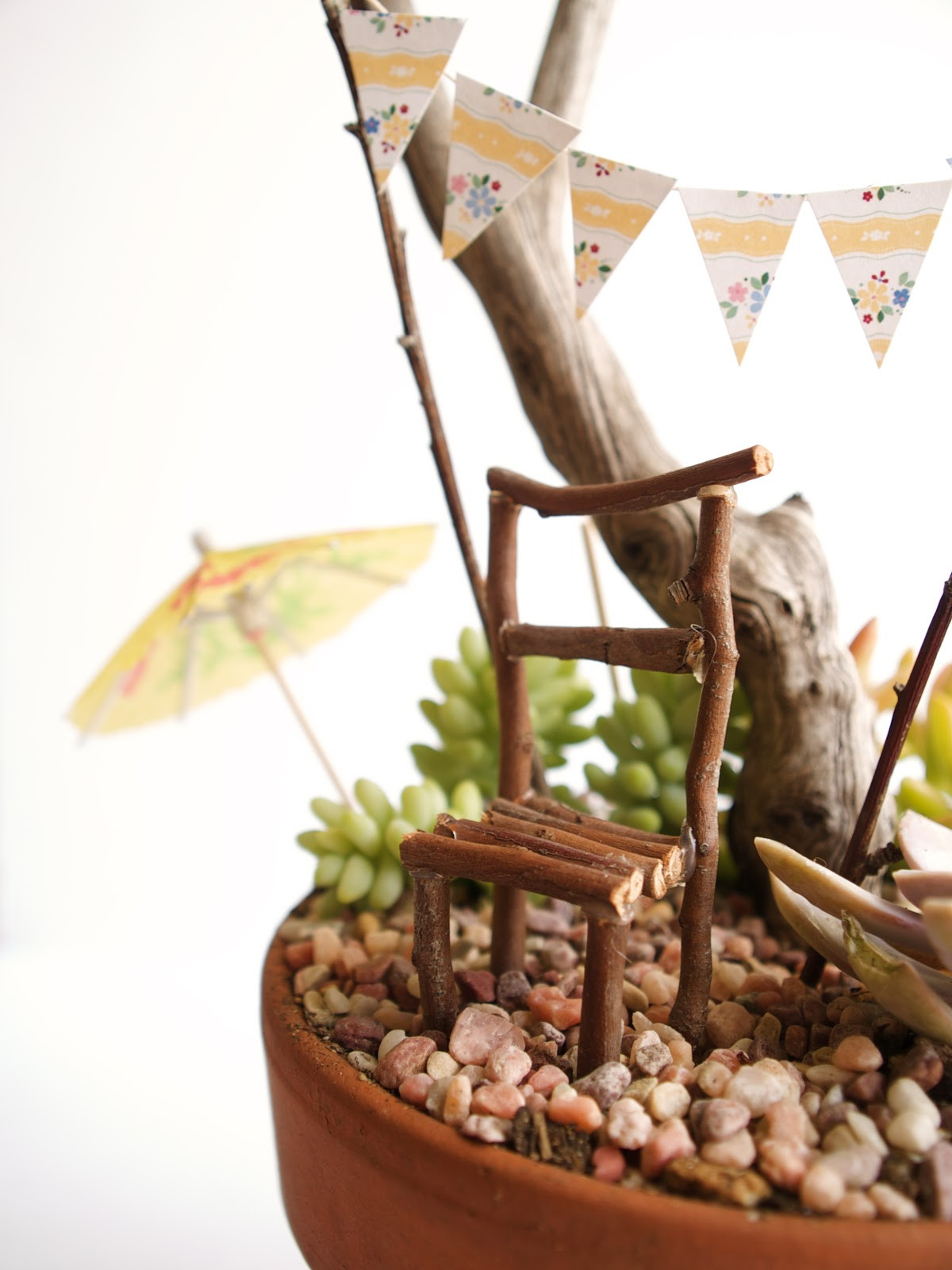Best ideas about Fairy Furniture DIY . Save or Pin Fairy Furniture A Stick Chair for your Fairy Garden Now.