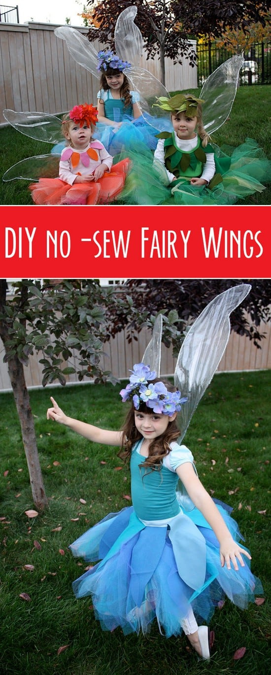 Best ideas about Fairy Wings DIY . Save or Pin 15 Great DIY Kids Halloween Costumes Ideas Now.