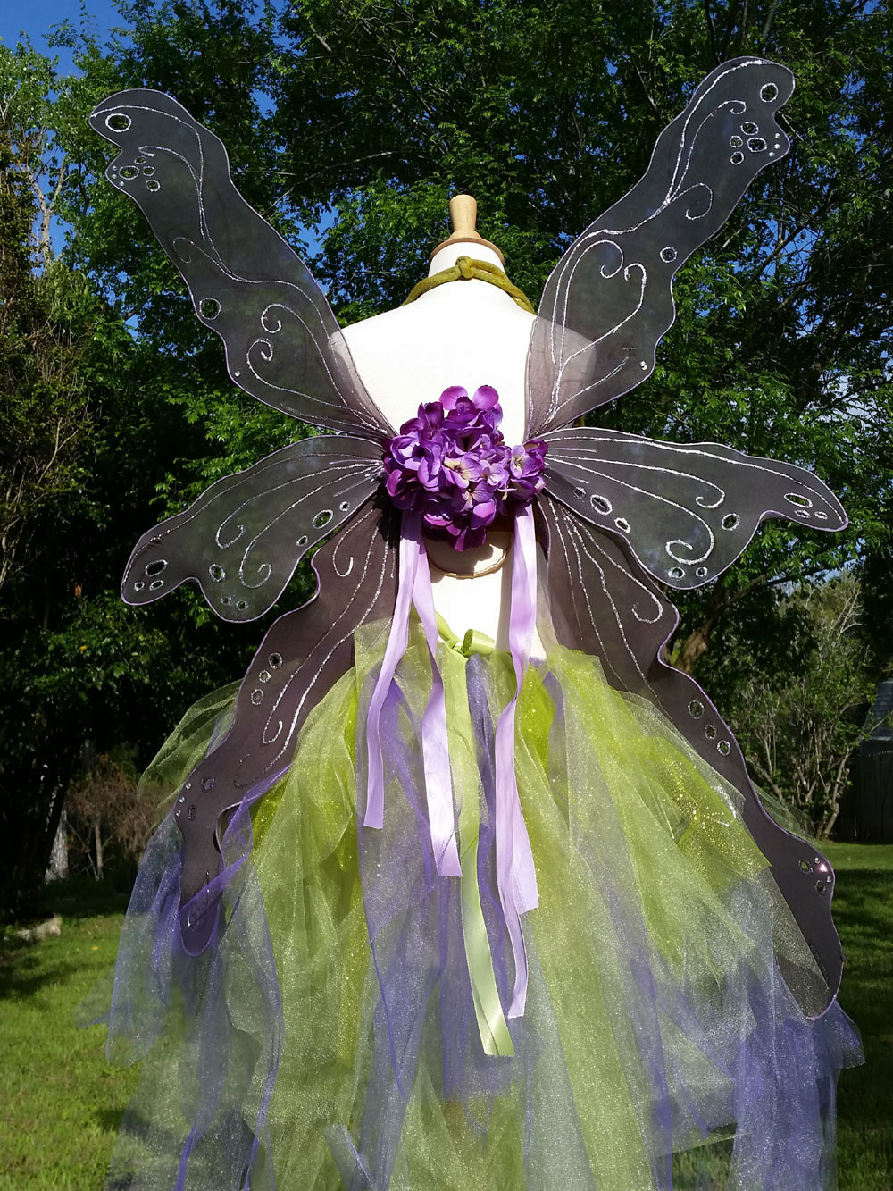 Best ideas about Fairy Wings DIY . Save or Pin Nuno Felt Art Bra and DIY Fairy Wings Costume – Marie Now.