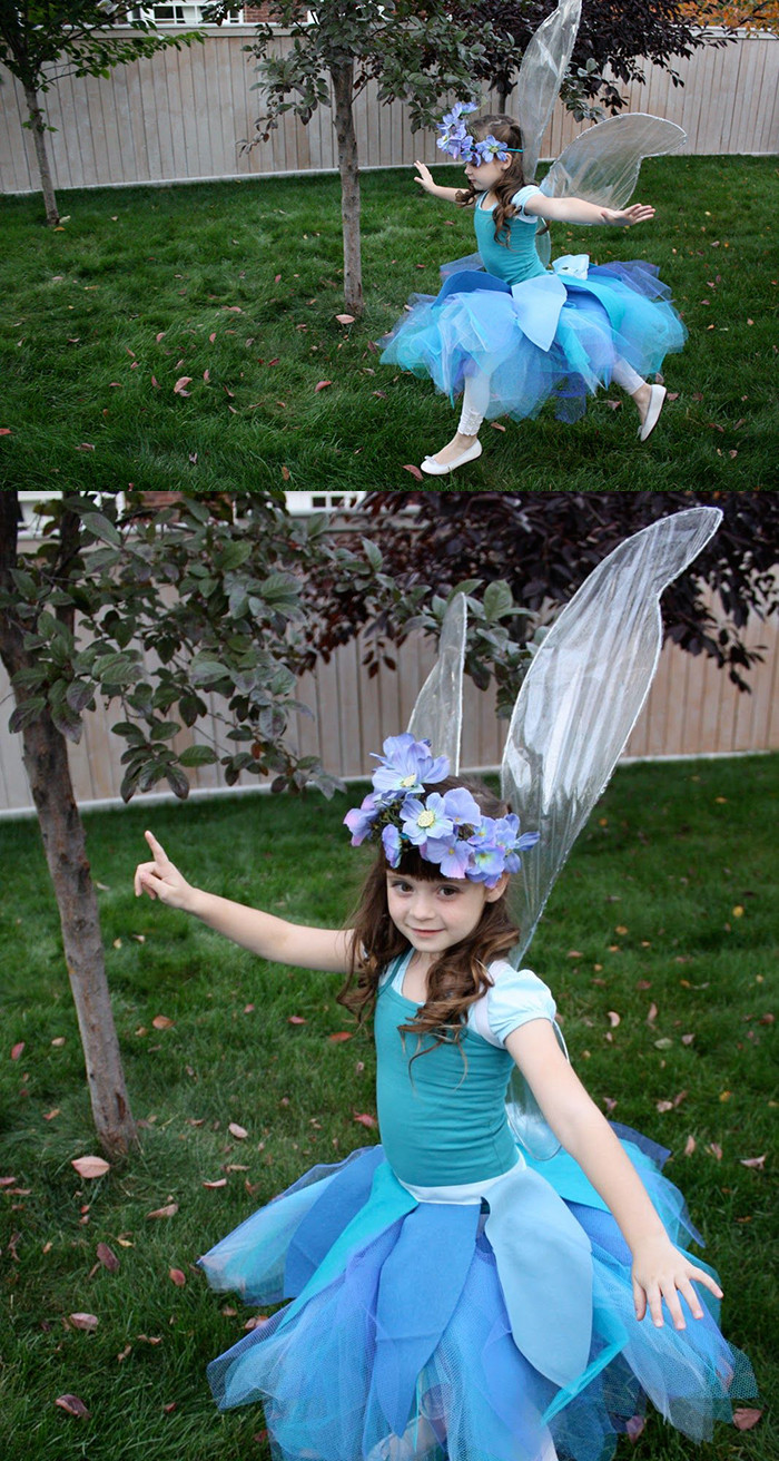 Best ideas about Fairy Wings DIY . Save or Pin DIY No Sew Iridescent Fairy Wings Tutorial Andrea s Notebook Now.
