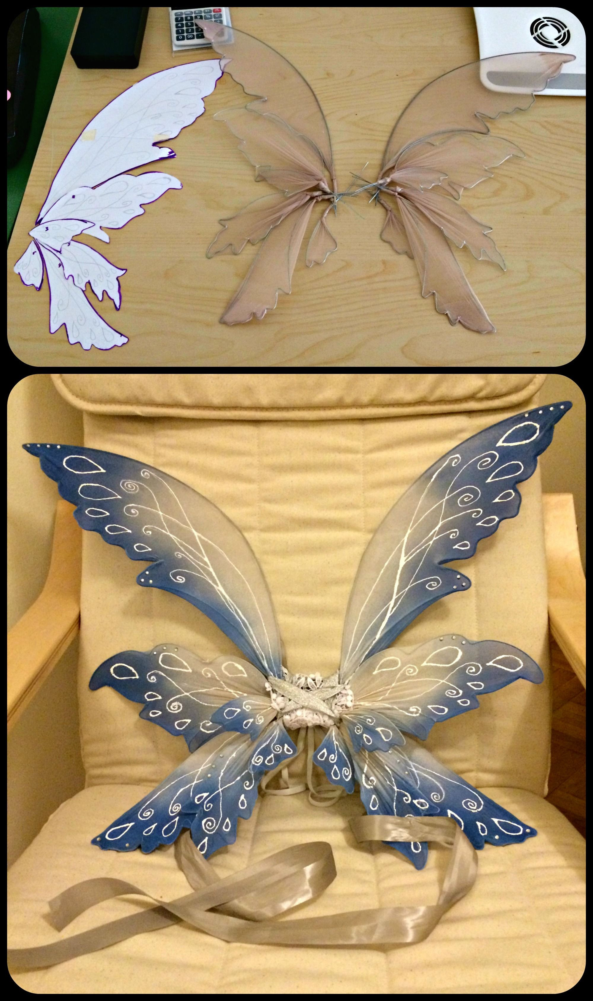 Best ideas about Fairy Wings DIY . Save or Pin Pin by Polyxeni Charalampidou on My Crafts Now.
