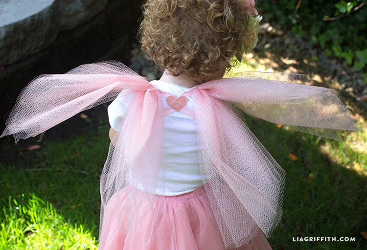 Best ideas about Fairy Wings DIY . Save or Pin DIY Fairy Princess Costume Lia Griffith Now.