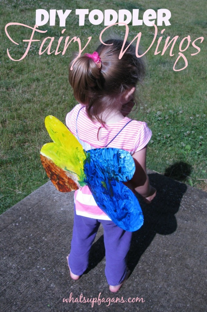 Best ideas about Fairy Wings DIY . Save or Pin Homemade DIY Toddler Fairy Wings Now.