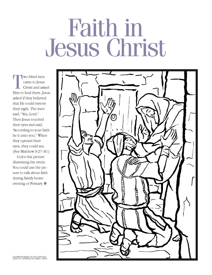 Best ideas about Faith Coloring Pages For Kids . Save or Pin Coloring Pages Now.