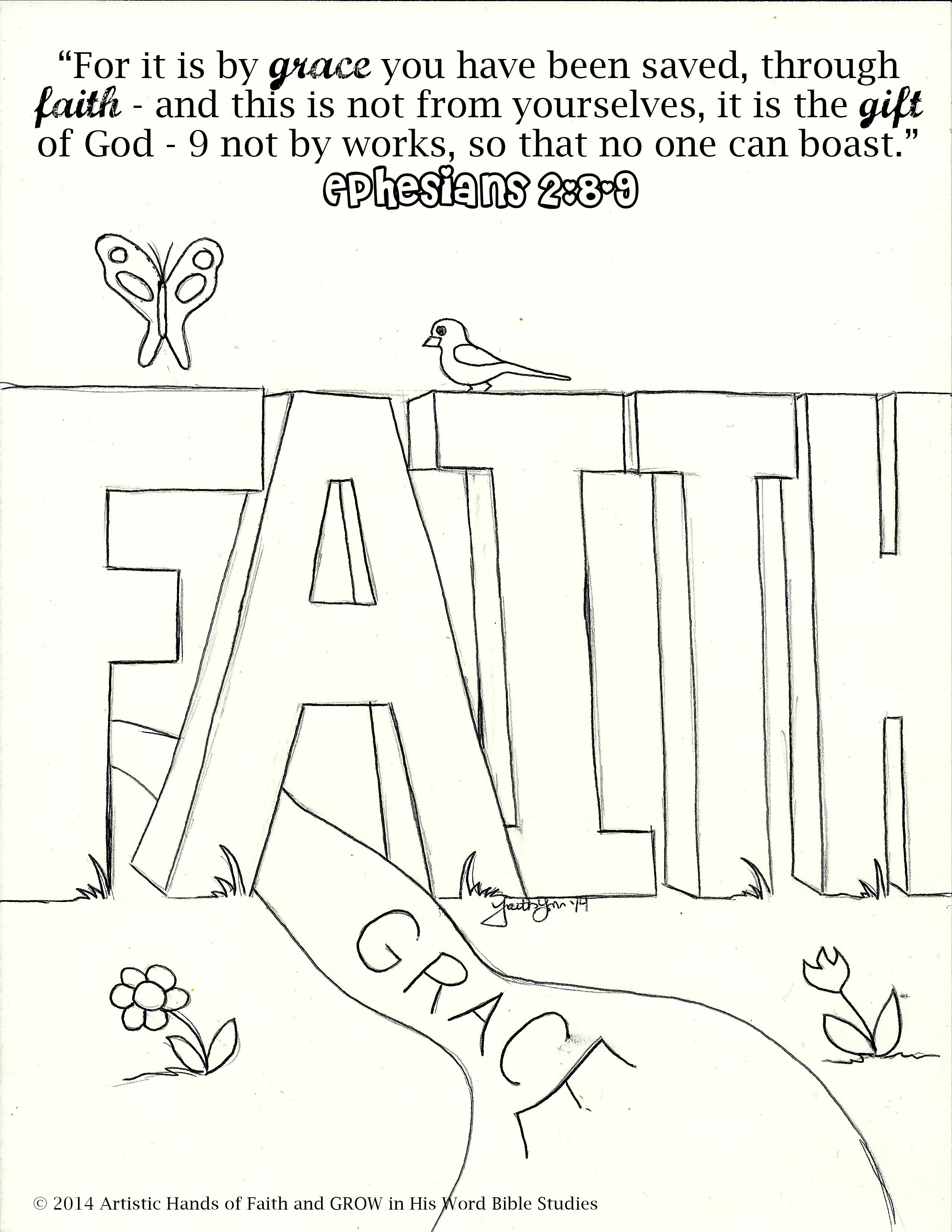 Best ideas about Faith Coloring Pages For Kids . Save or Pin Free Bible Coloring Pages at Artistic Hands of Faith Now.