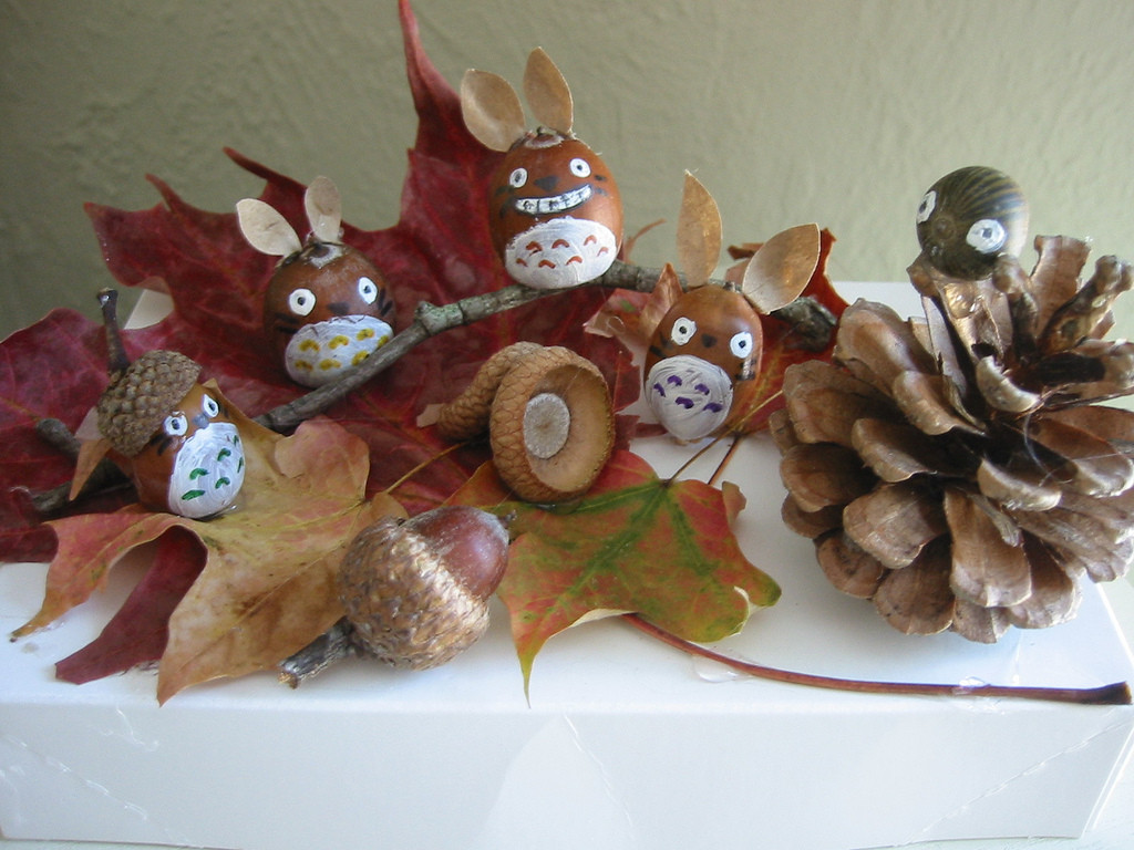 Best ideas about Fall Craft Ideas . Save or Pin 4 DIY Autumn Home Decor Craft Ideas Using Leaves Now.