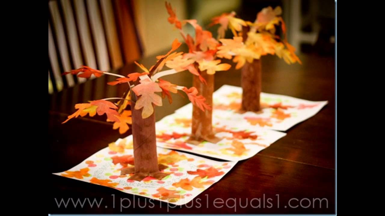 Best ideas about Fall Craft Ideas . Save or Pin Easy DIY fall craft ideas for preschoolers Now.