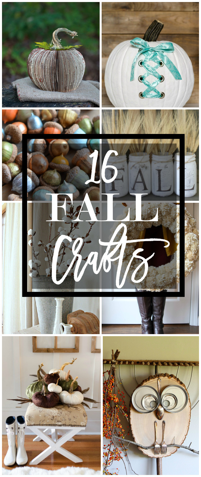 Best ideas about Fall Craft Ideas . Save or Pin 16 Fall Craft Ideas Now.